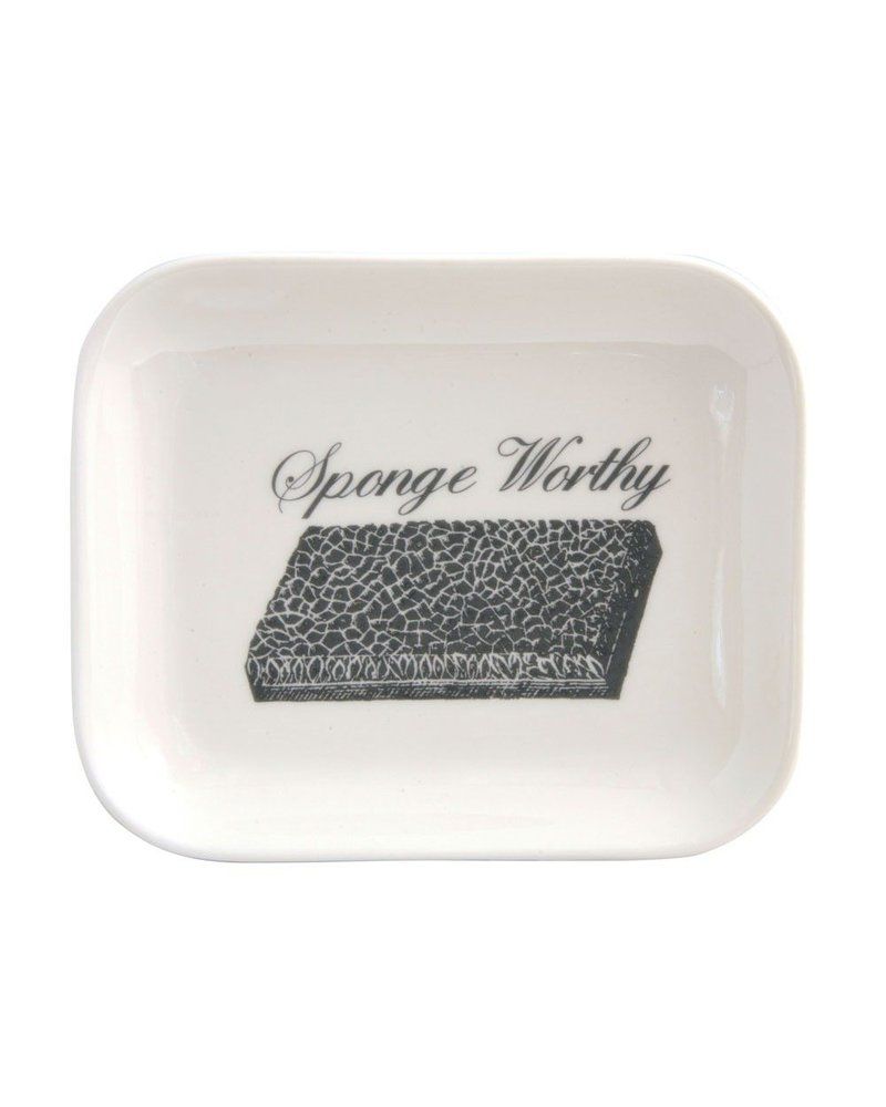 Sponge Worthy Ceramic Tray