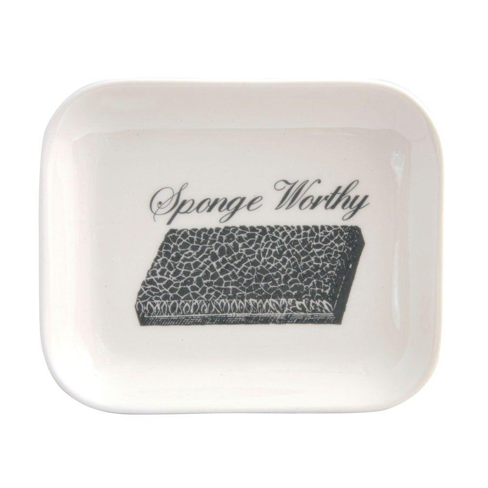 Sponge Worthy Ceramic Tray