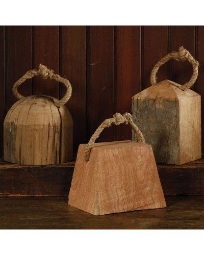 HomArt Skagway Wood Weight - Rnd
