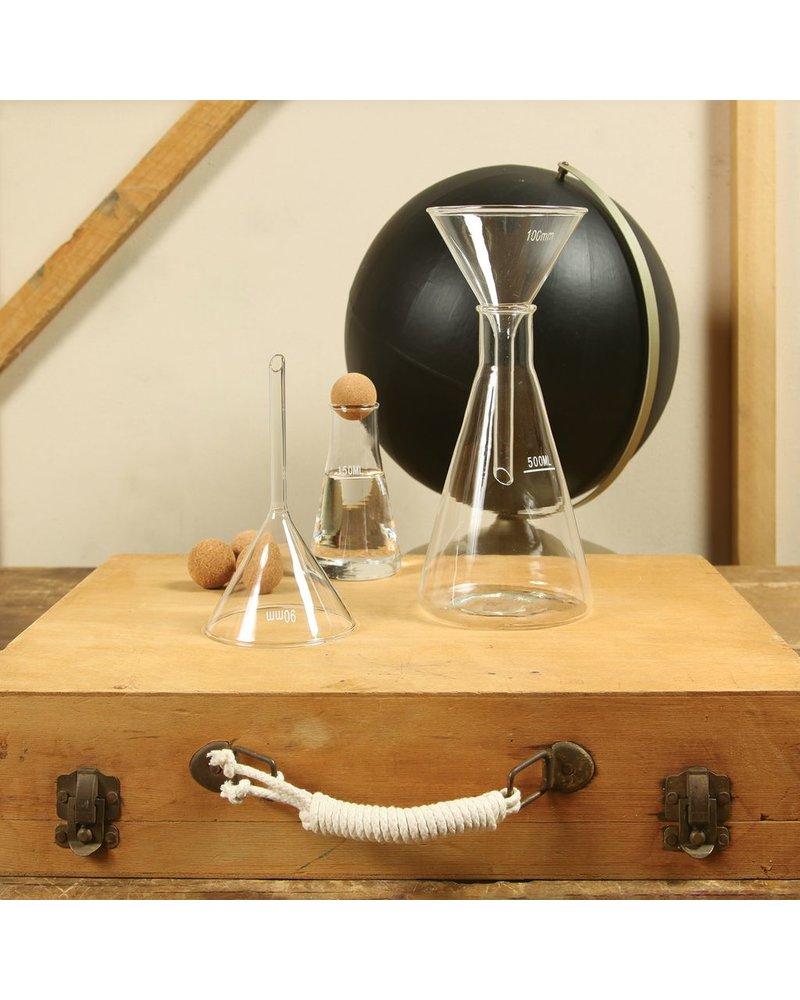 HomArt Chemistry Glass Funnel - 90mm Clear