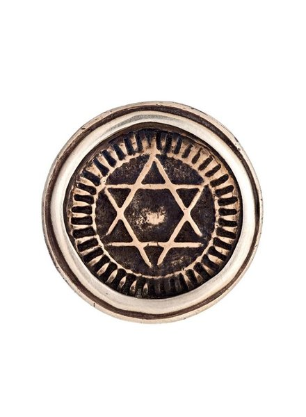 Moroccan Star of David Ring