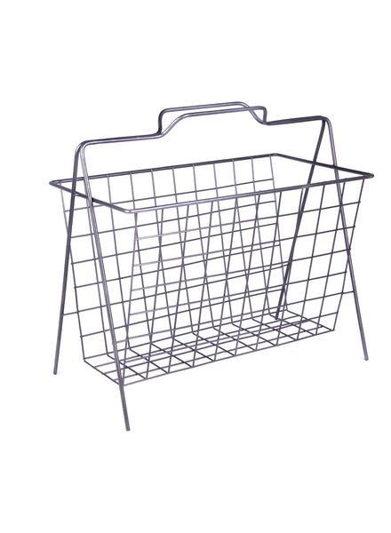 HomArt Darby Wire Magazine Basket