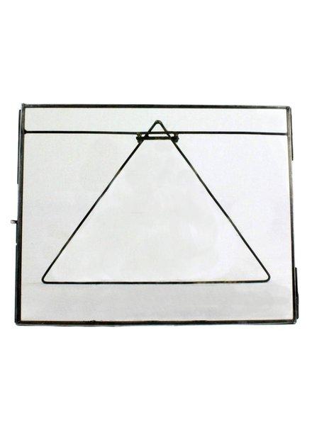 HomArt Pierre Easel Frame - 10x8 - Horiz Zinc