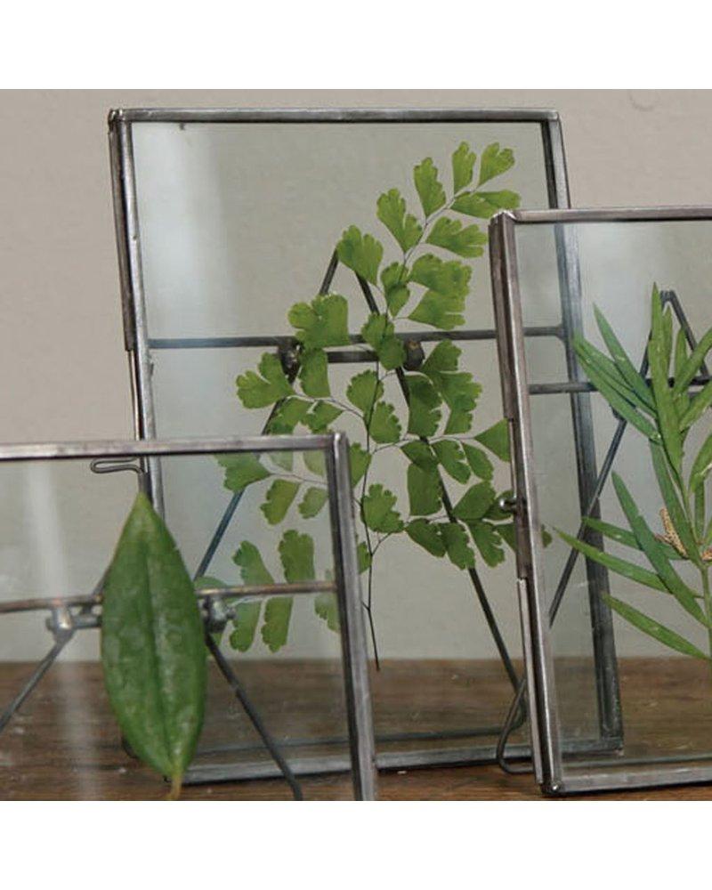 HomArt Pierre Easel Frame 5x7 - Vert Zinc