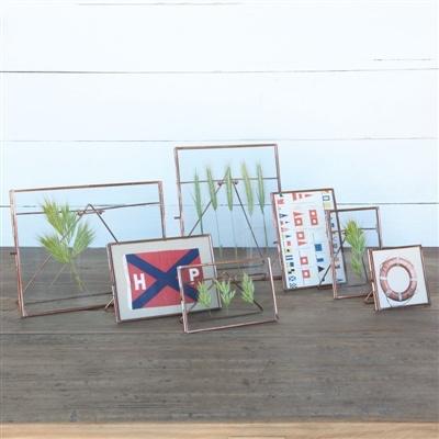 HomArt Cornell Easel Frame 10x8 - Horiz Copper