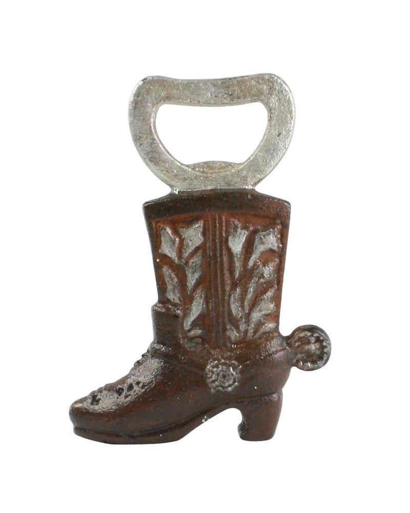 HomArt Cowboy Boot HomArt Cast Iron Bottle Opener