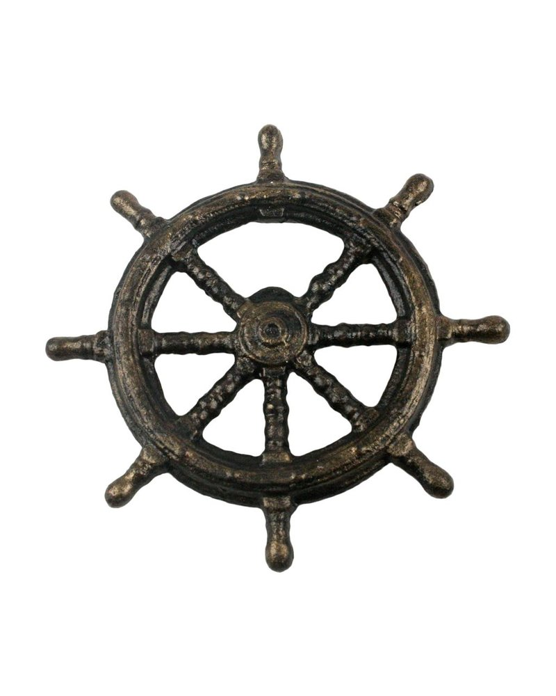 HomArt Ships Wheel HomArt Cast Iron Bottle Opener