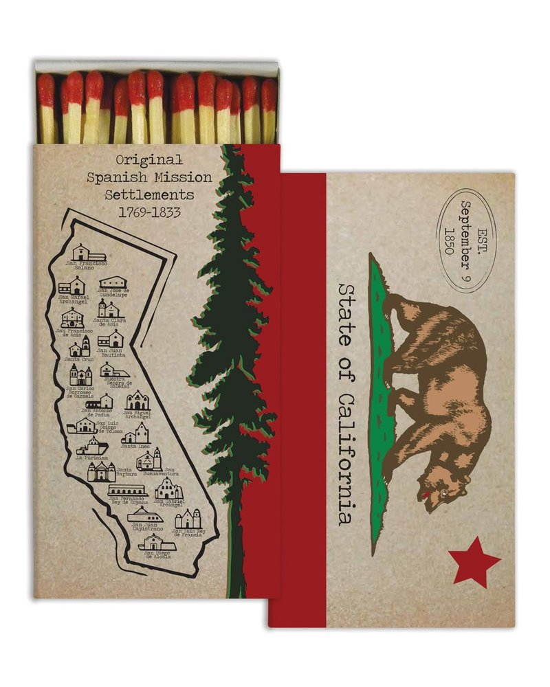 HomArt California HomArt Matches - Set of 3 Boxes