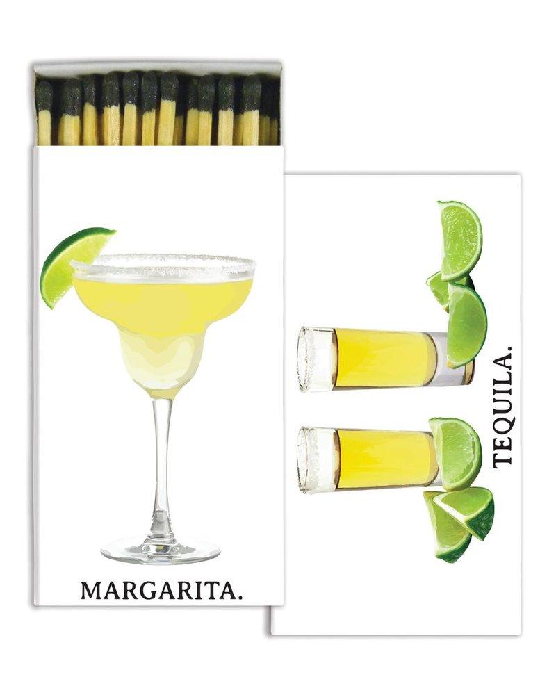 HomArt Margarita & Tequila HomArt Matches - Set of 3 Boxes