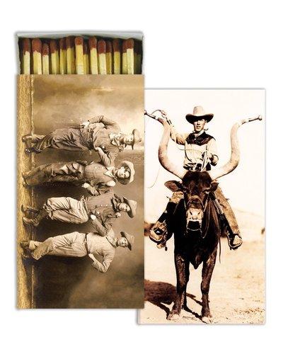 HomArt Longhorn Cowboys HomArt Matches - Set of 3 Boxes