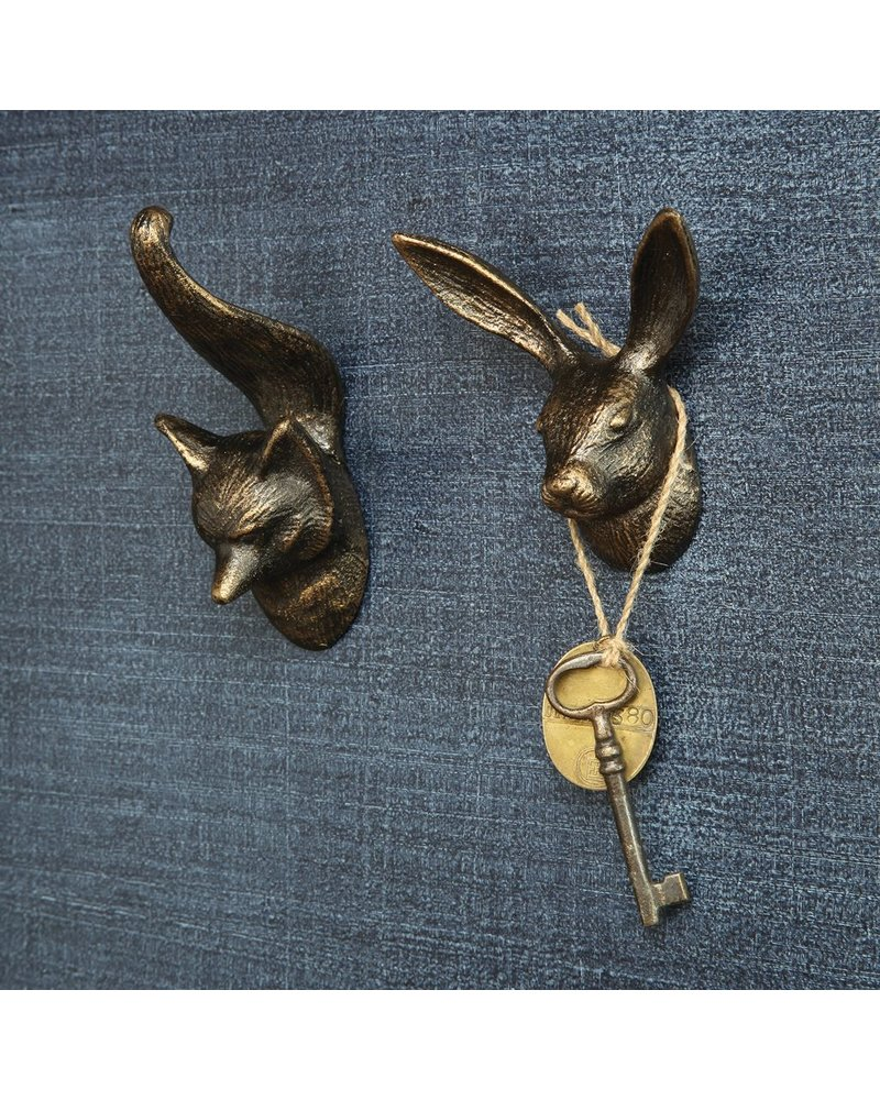 HomArt Hare Wall Hook - Cast Iron