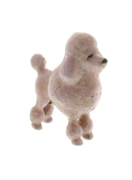 HomArt Poodle - Cast Iron-Pink
