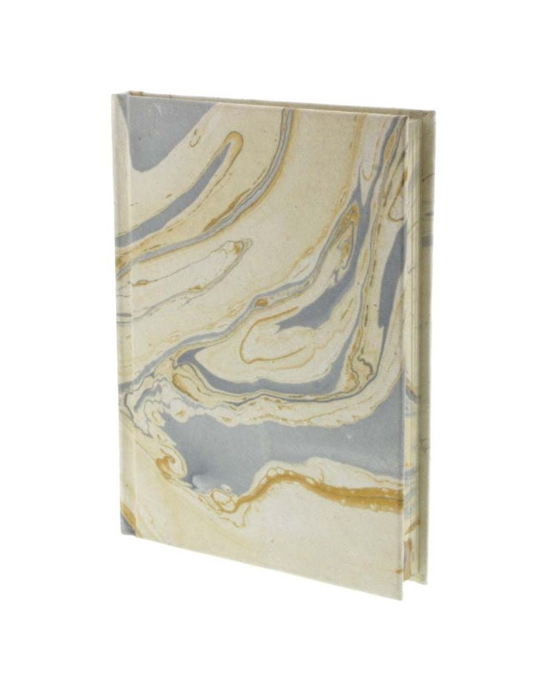 HomArt Marbleized Paper Journal-Blue
