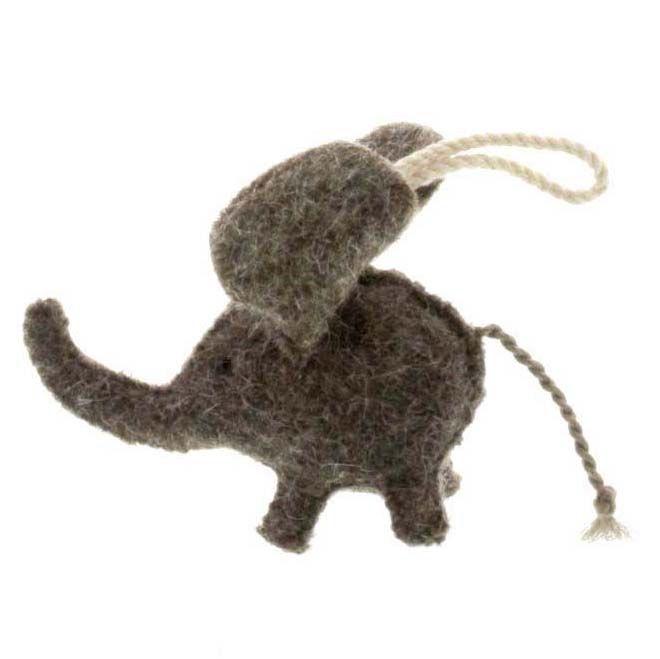 HomArt Felt Elephant Ornament