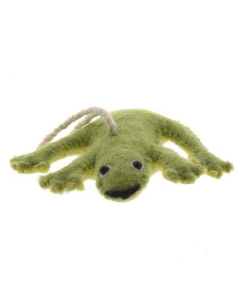 HomArt Felt Frog Ornament