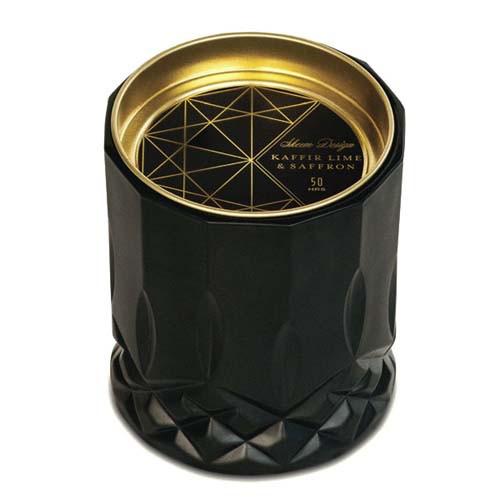 Kaffir Lime & Safron Black Jar Axiom Candle