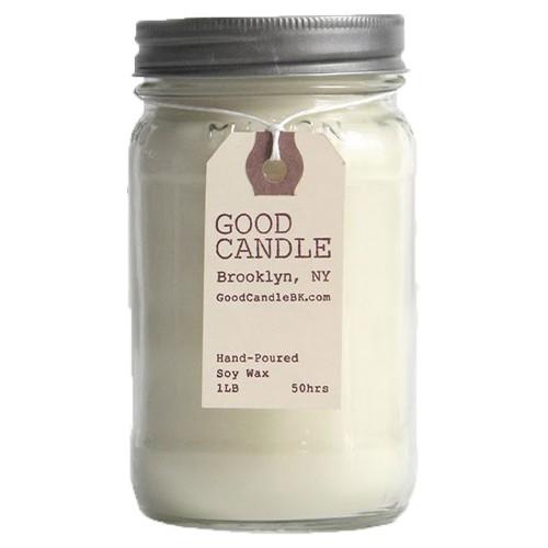 Basil 1lb Mason Jar Good Candle