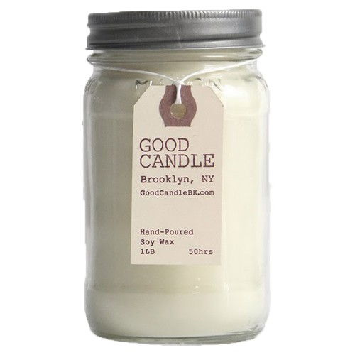 Lavender 1lb Mason Jar Good Candle