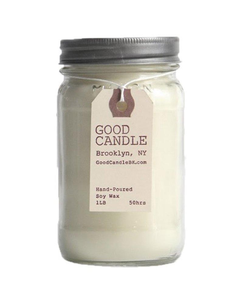 Campfire 1lb Mason Jar Good Candle