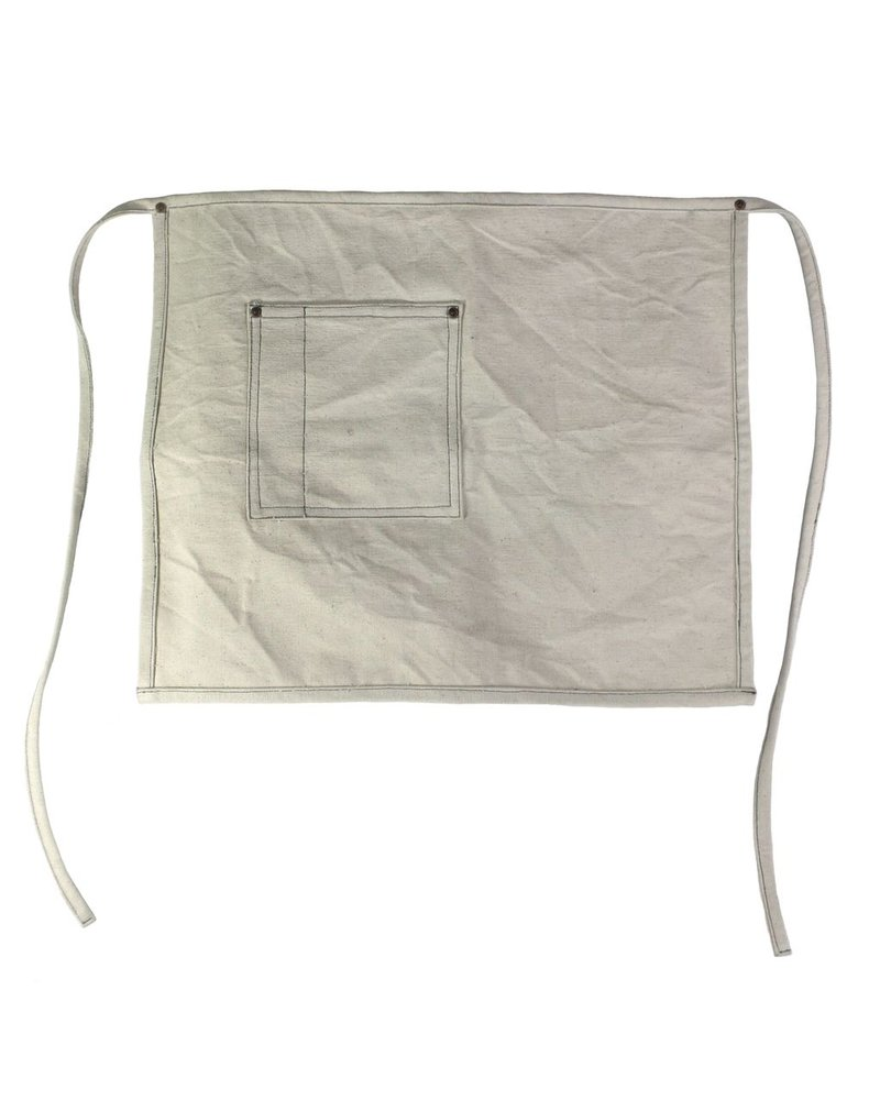 HomArt Workshop Canvas Apron - Chef-Ivory