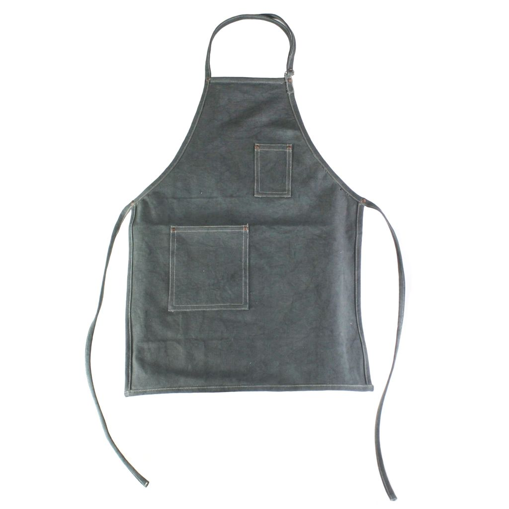 HomArt Workshop Canvas Apron - Baker-Graphite