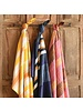 HomArt Caravan Kantha Stitched Throw-Marsala Stripe