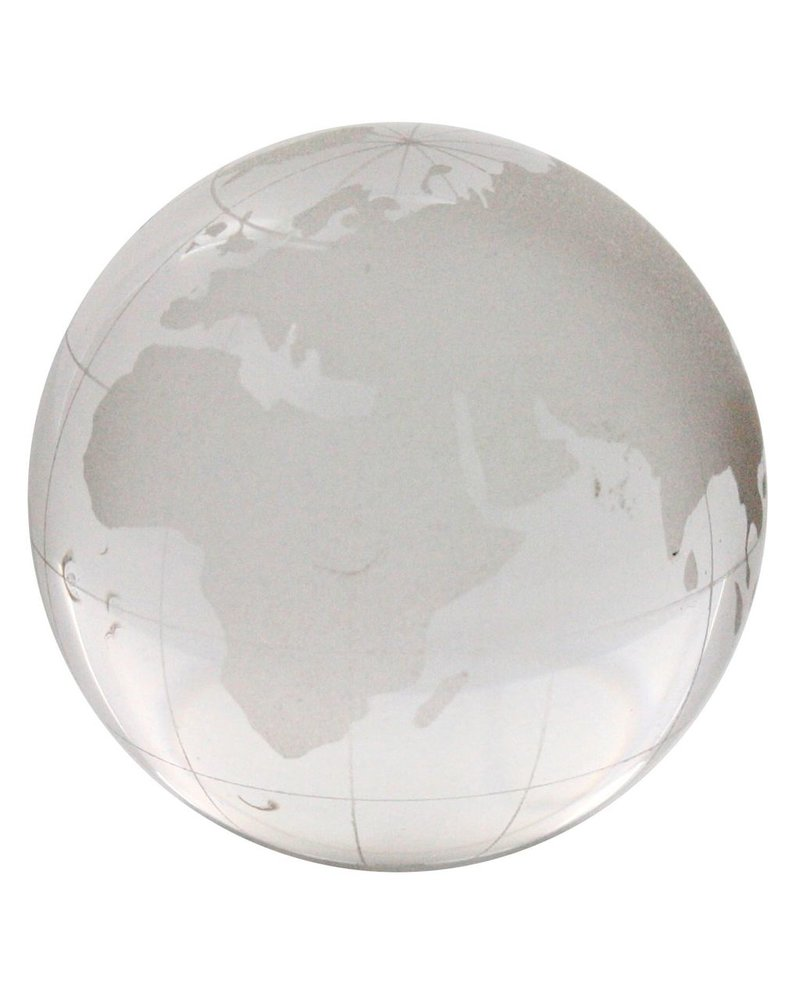 HomArt Etched Glass Globe - Med