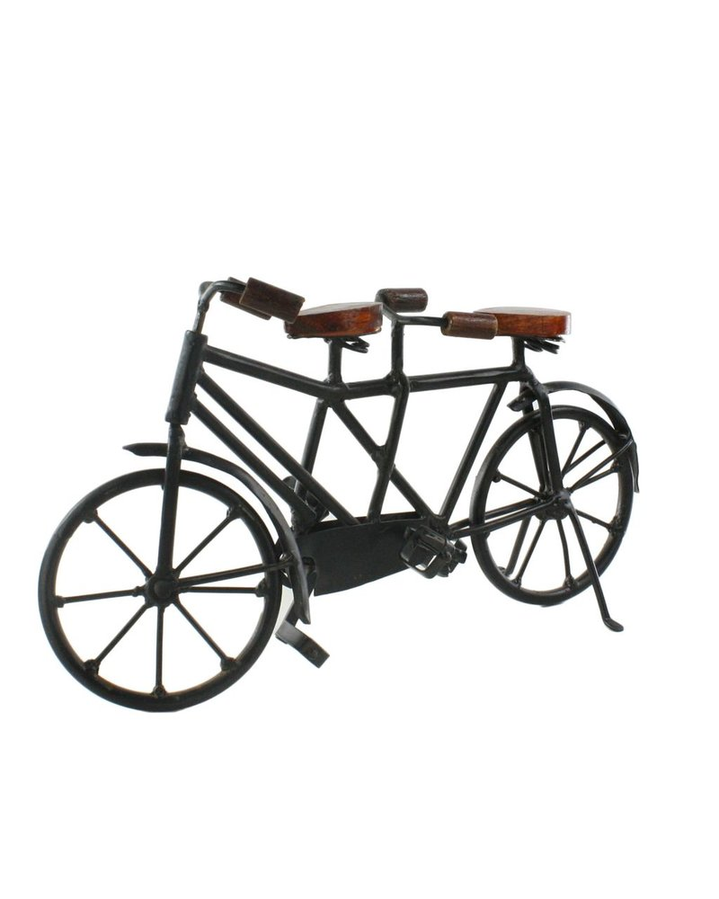HomArt Iron and Wood Tandem Bicycle
