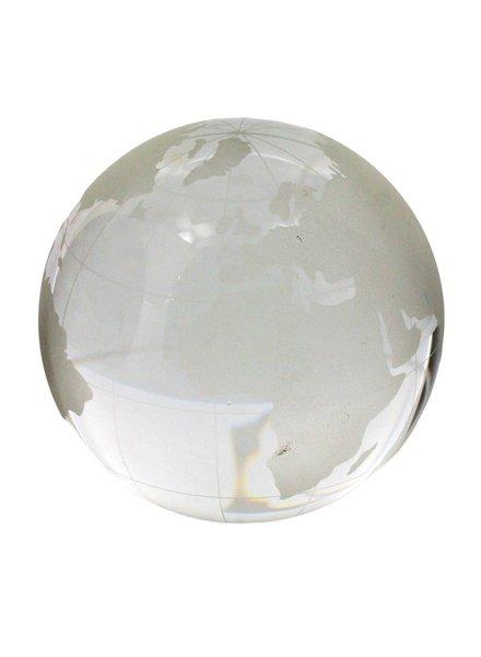 HomArt Etched Glass Globe - Lrg