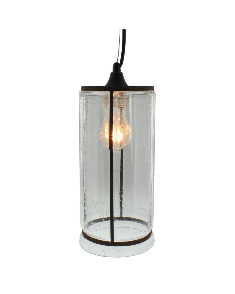 HomArt Serge Narrow Tall Glass Pendant Light