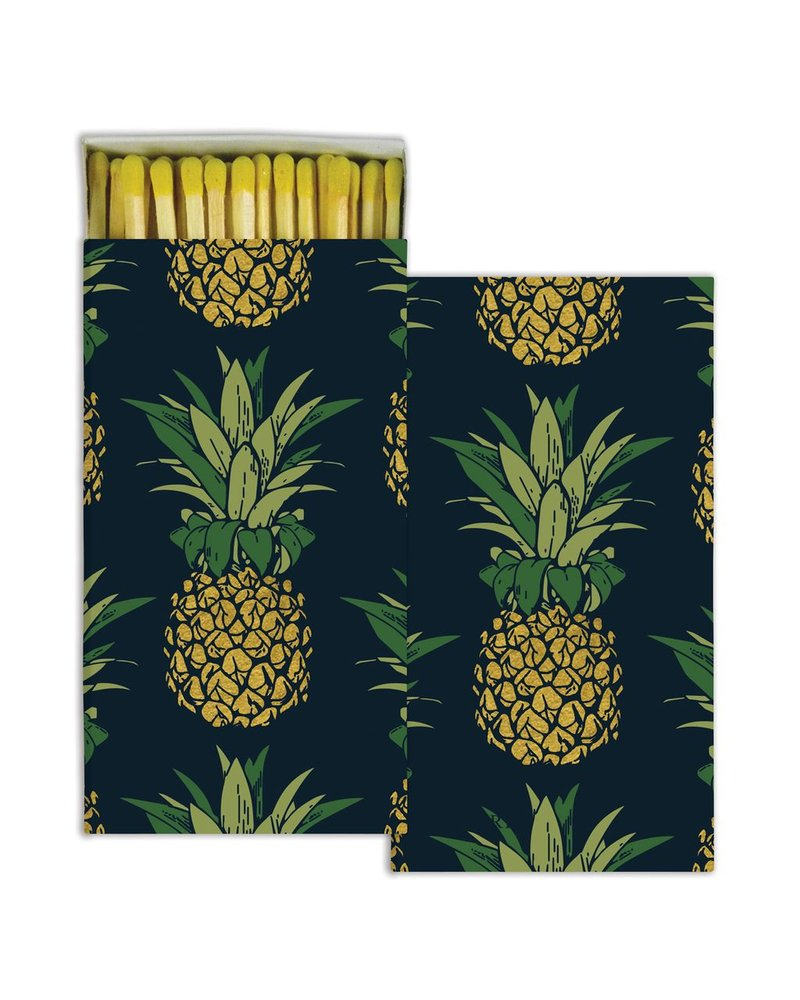 HomArt Pineapple HomArt Matches - Set of 3 Boxes
