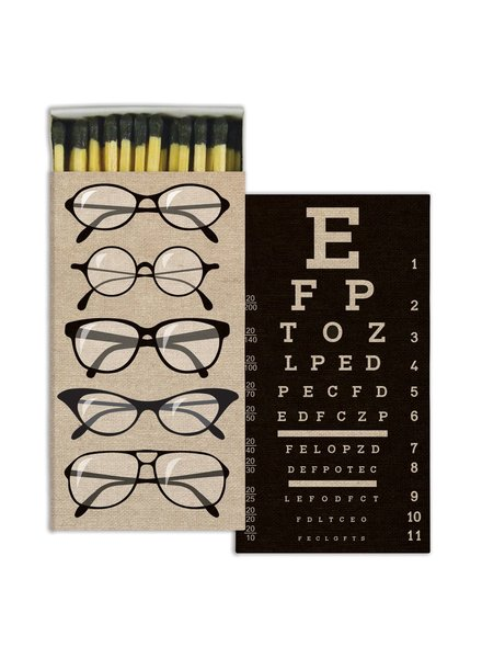 HomArt Eye Chart HomArt Matches - Set of 3 Boxes