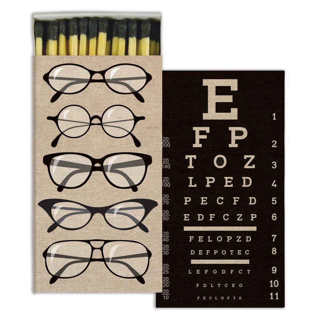 HomArt Eye Chart HomArt Matches - Set of 3 Boxes