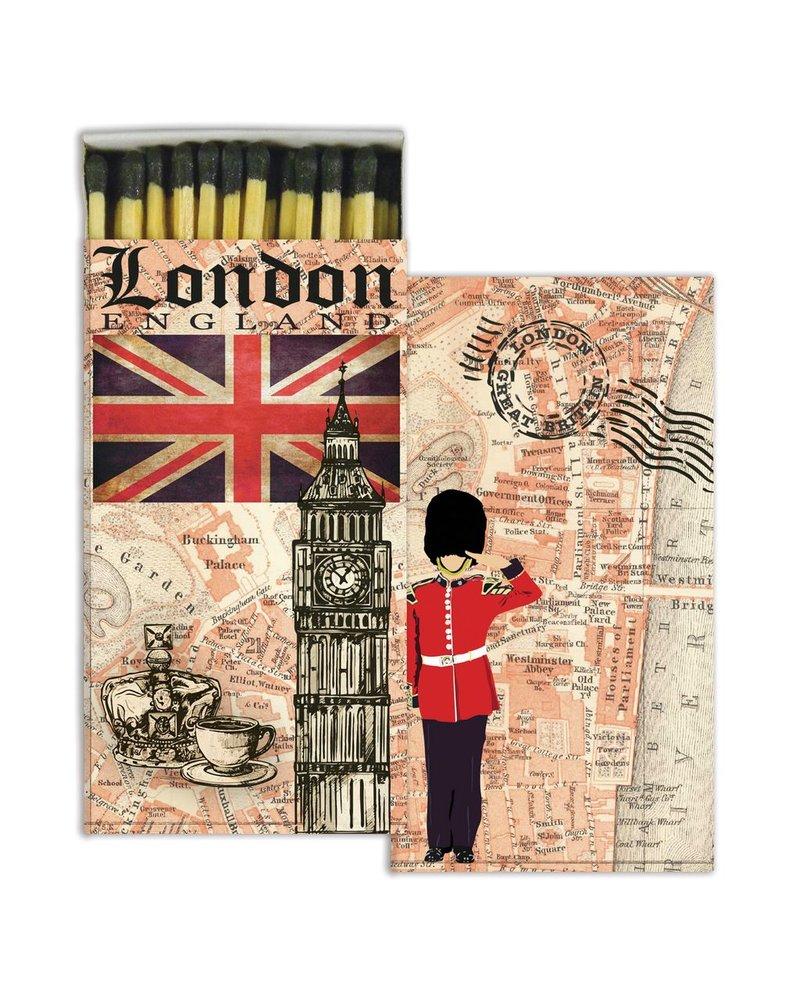 HomArt London Map HomArt Matches - Set of 3 Boxes