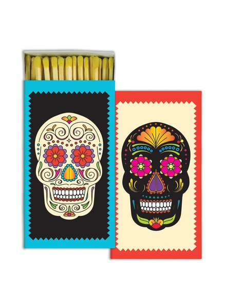 HomArt Sugar Skull HomArt Matches - Set of 3 Boxes