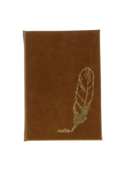 HomArt Embossed Durable Faux Leather Journal - Notes