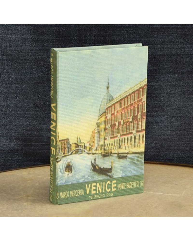 HomArt Travel Book Box - Venice