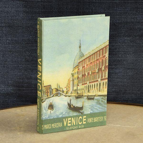 HomArt Travel Book Box - Venice