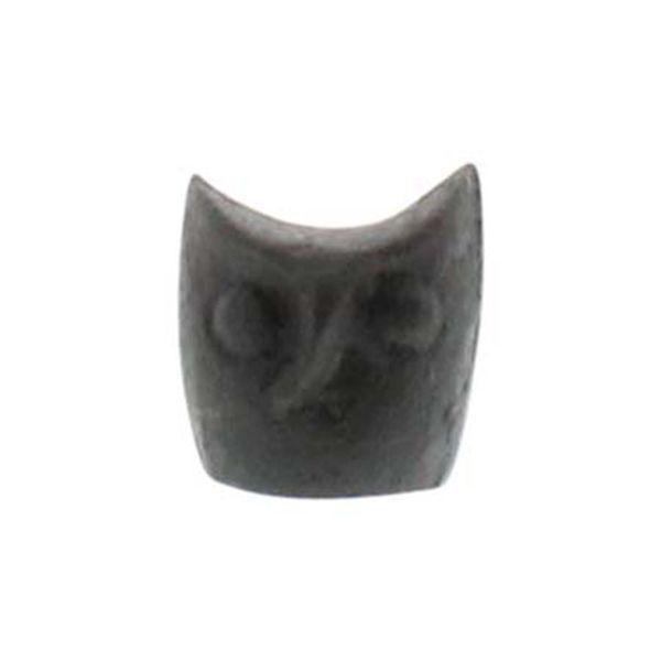 HomArt Miniature Owl Head Statue - Cast Iron