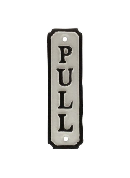 HomArt Door Pull Cast Iron Sign