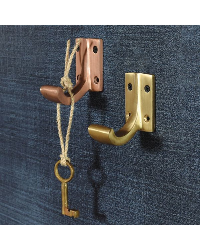 HomArt Foyer Aluminum Wall Hook in Copper Finish