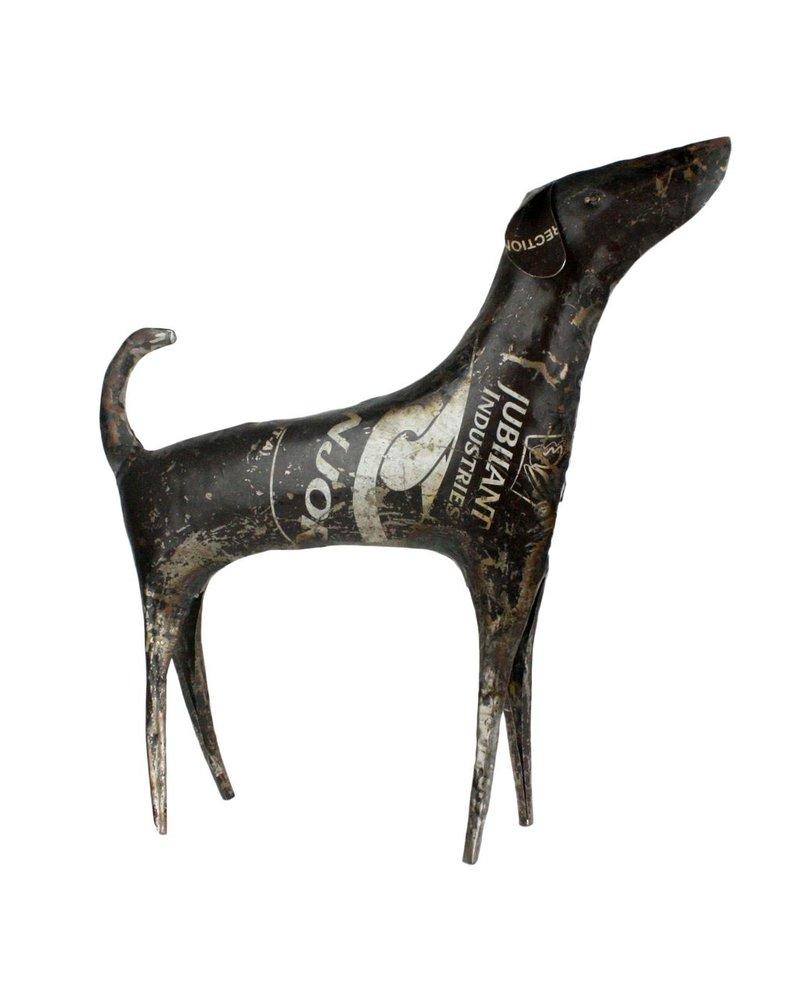 HomArt Reclaimed Metal Dog - Lrg