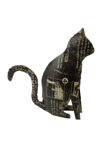 HomArt Reclaimed Metal Cat
