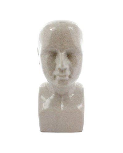 HomArt Phrenology Head - Ceramic - Sm Natural