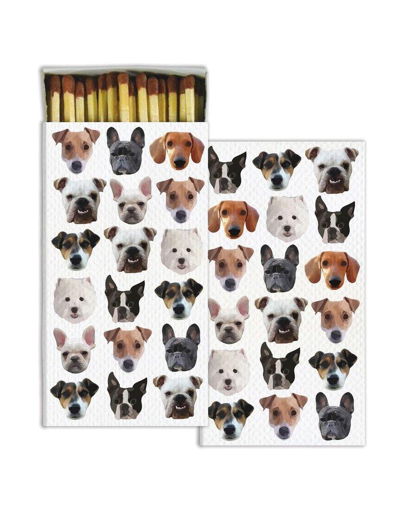 HomArt Dog Squad HomArt Matches Set of 3 Boxes