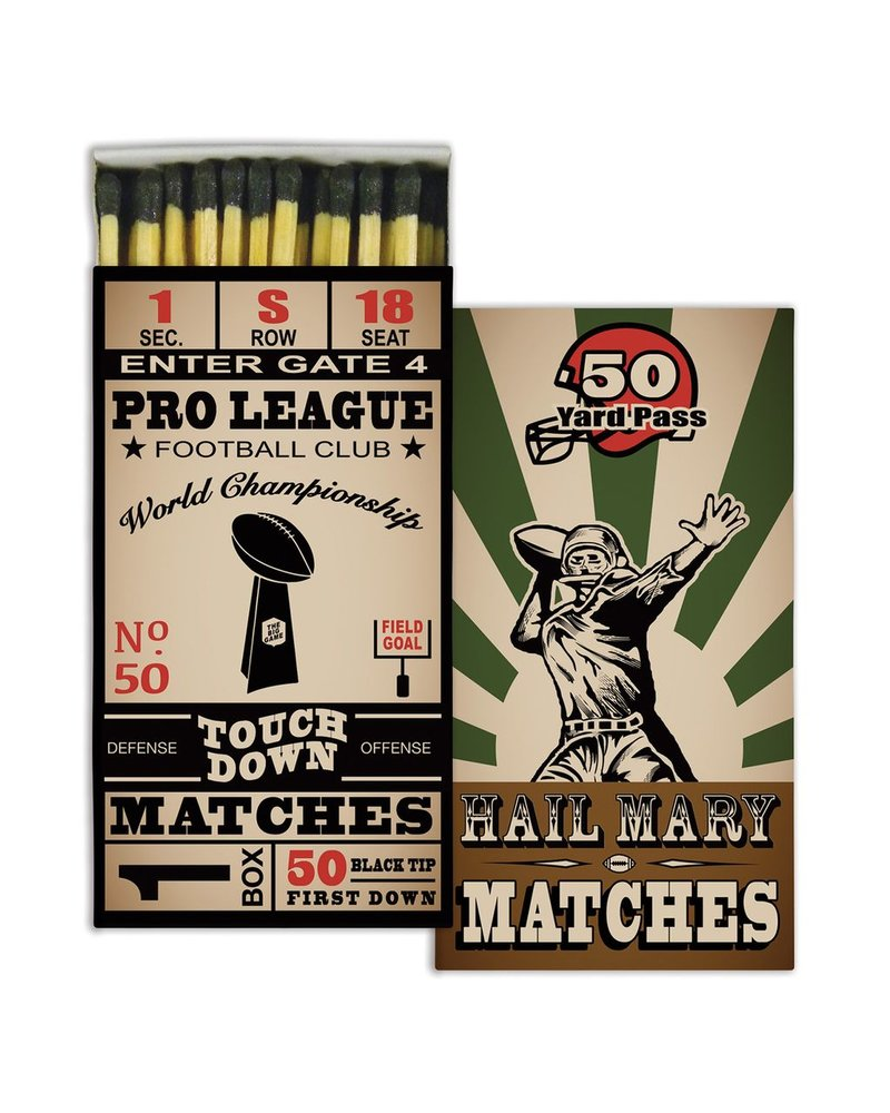 HomArt Football HomArt Matches Set of 3 Boxes