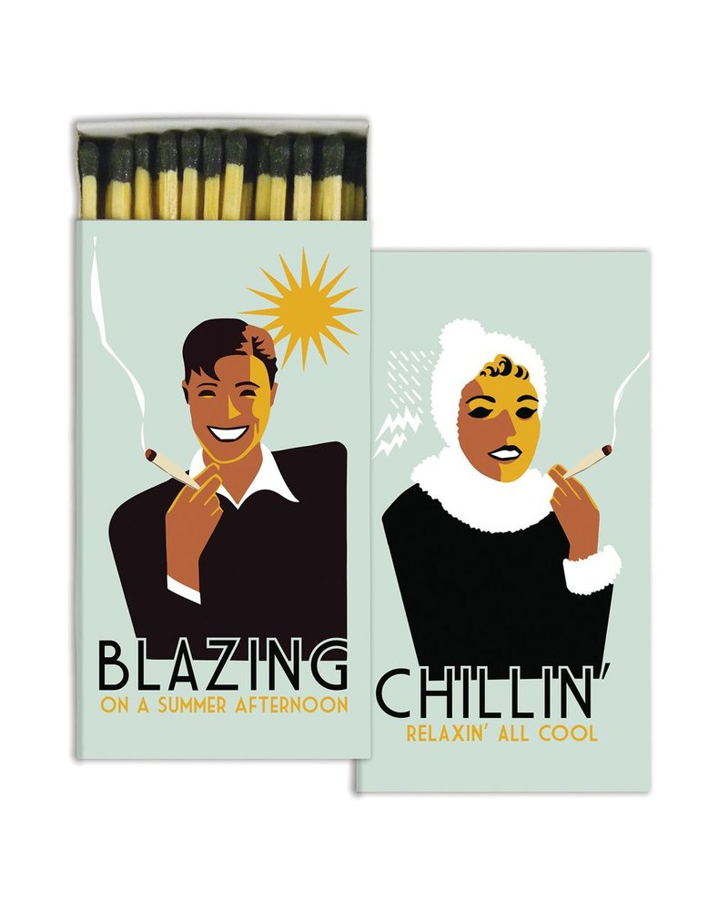 HomArt Blazing and Chillin' HomArt Matches Set of 3 Boxes