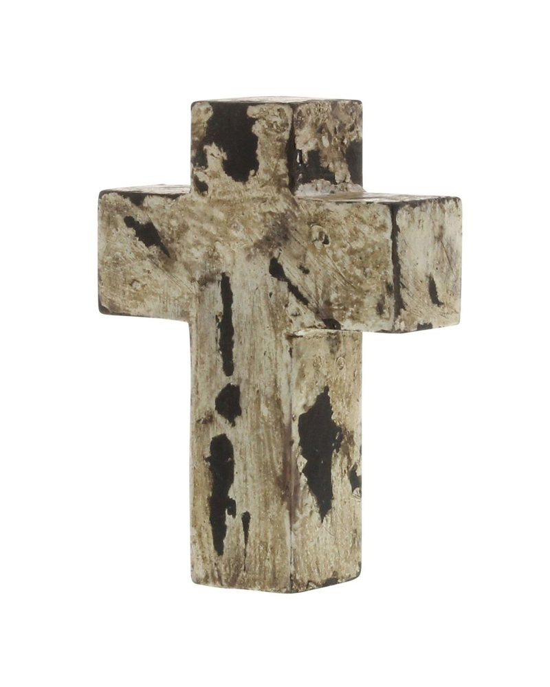 HomArt Wood White-Painted Cross