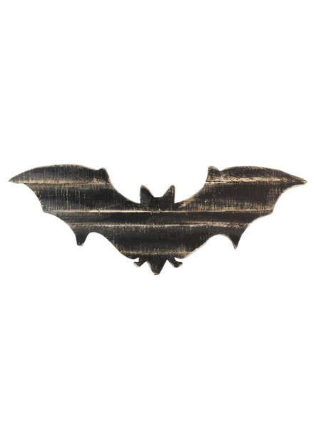 HomArt Wood Slat Bat Wall Art
