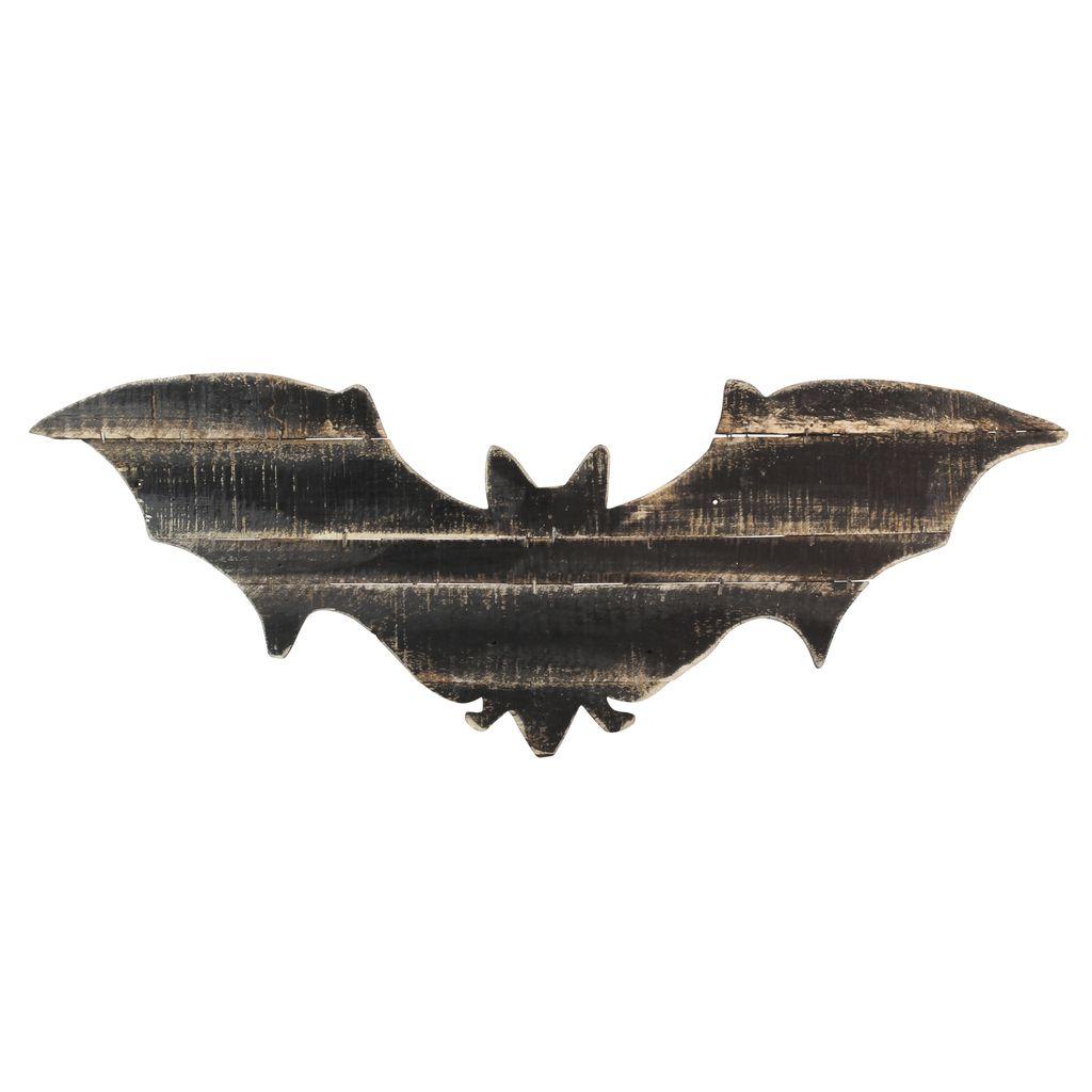 HomArt Wood Slat Bat Wall Art